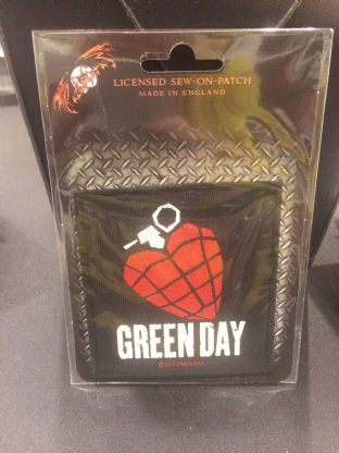 Green Day Patch 2